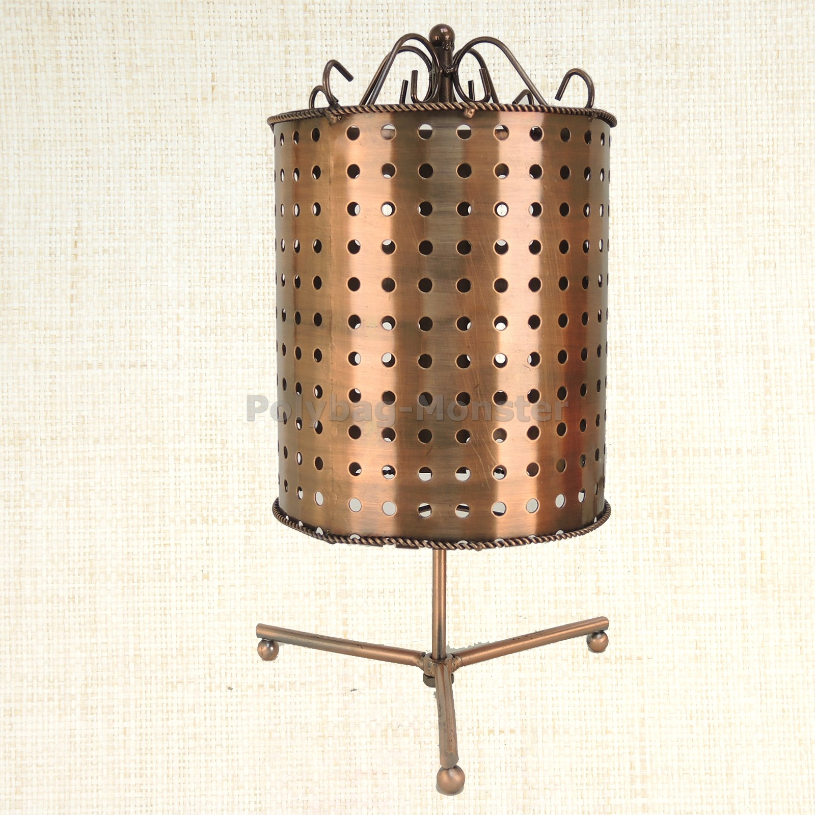 Details about Circular Pegboard Swivel Retail Jewelry Display Stand