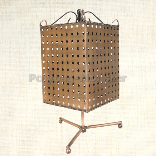 Details about Column Pegboard Swivel Retail Jewelry Display Stand